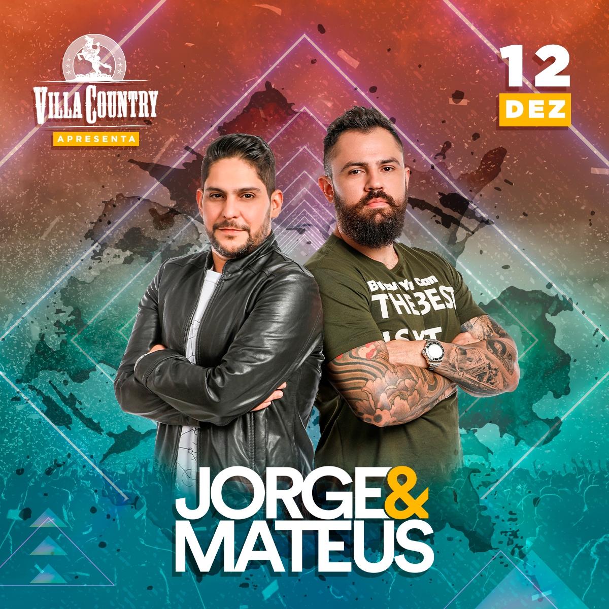 Villa Country recebe show da dupla Jorge e Mateus 41
