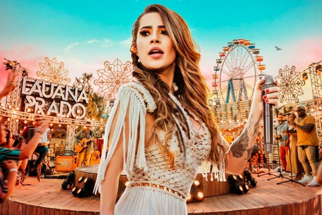 LAUANA PRADO FOI A ÚNICA ARTISTA BRASILEIRA A ENTRAR PARA O TOP 100 GLOBAL DO YOUTUBE NO ANO 41