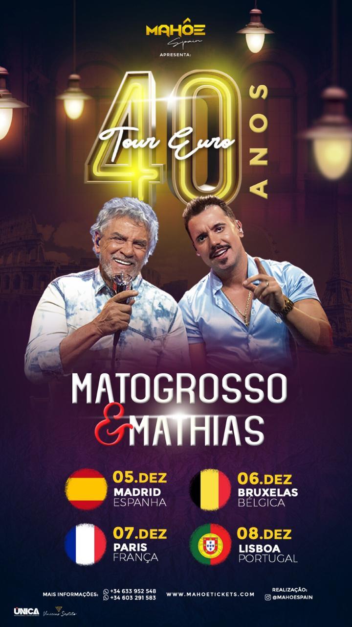 Matogrosso e Mathias na Europa! 41