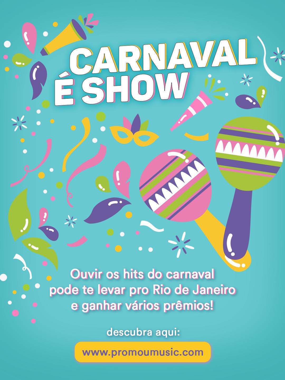 UNIVERSAL MUSIC LANÇA PROMOÇÃO ESPECIAL DE CARNAVAL, COM DIREITO A VIAGENS E MUITOS OUTROS PRÊMIOS 41