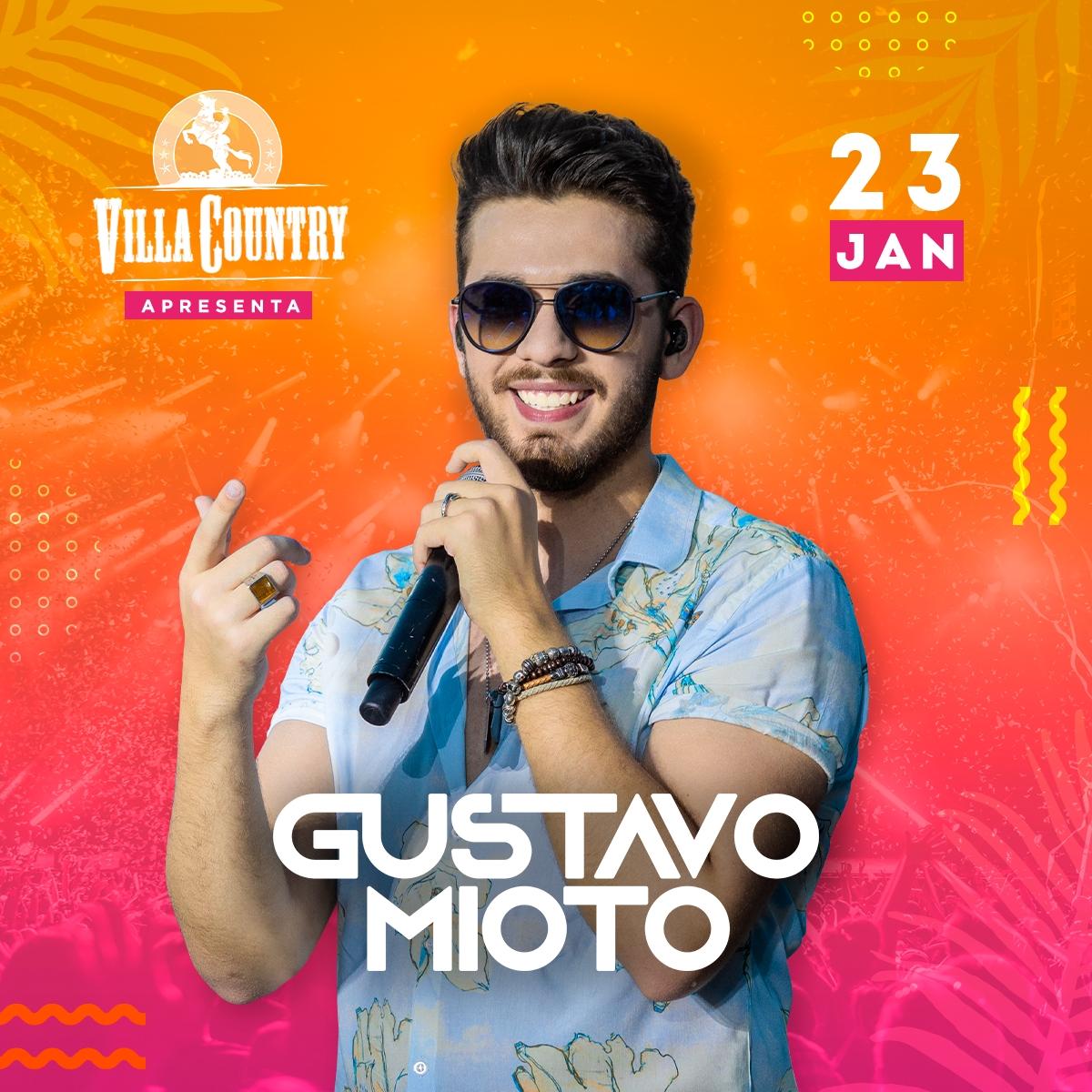 Gustavo Mioto com novo show no Villa Country 41