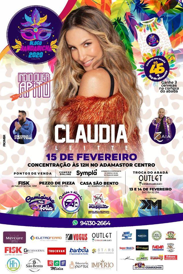 Claudia Leitte é atração principal do maior bloco de Carnaval de Guarulhos 42