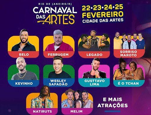 Artistas preparam repertório animado para o Carnaval das Artes no Rio de Janeiro! 41