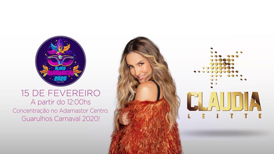 Claudia Leitte é atração principal do maior bloco de Carnaval de Guarulhos 41