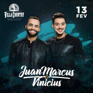 Juan Marcus e Vinicius animam a noite do Villa Country 41