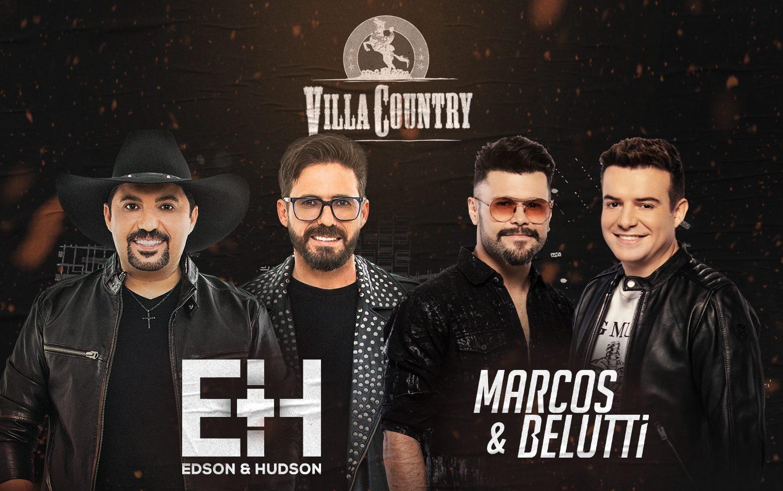 Villa Country recebe apresentação das duplas Edson e Hudson e Marcos e Belutti 41