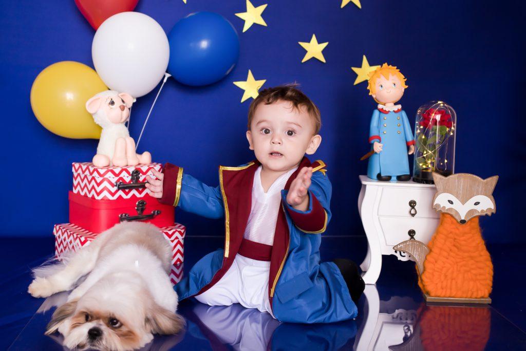 Sertanejo Marcelo martins, do Tchu Tcha Tcha, comemora um ano do filho com tema do Pequeno Príncipe 42