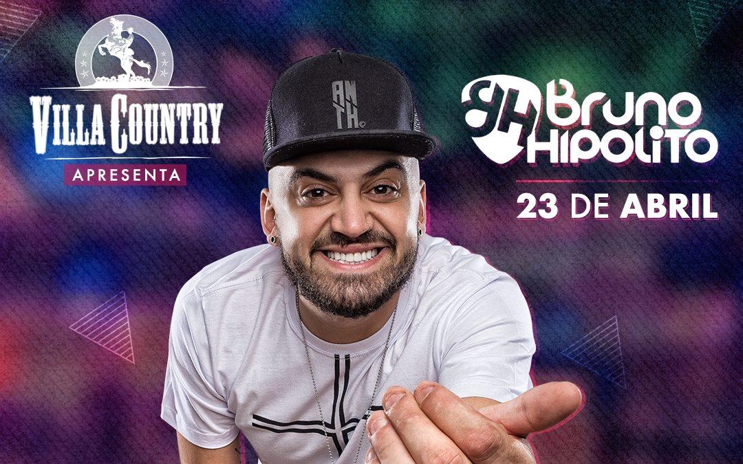 Sertanejo diferente com Bruno Hipólito no Villa Country 41