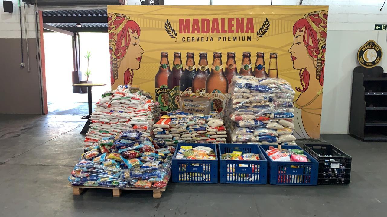 Cervejaria Madalena arrecada 3 toneladas de alimentos em 4 horas 41