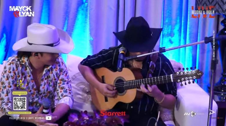 A #LiveDosMió com a dupla Mayck e Lyan teve um público de mais de 2 milhões de expectadores! 41