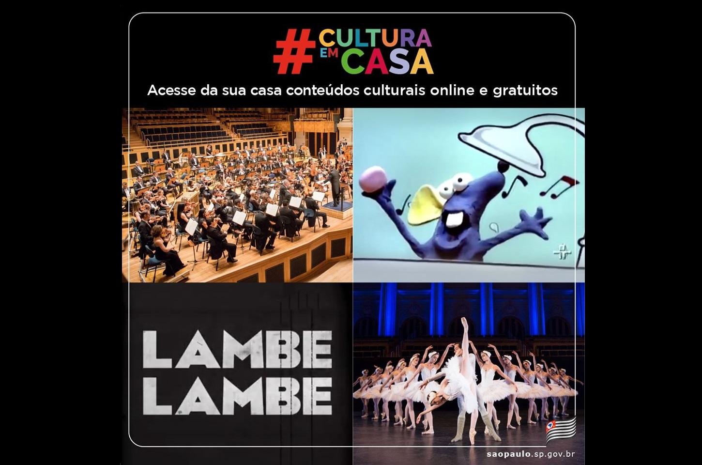 Plataforma de streaming e vídeo por demanda #CulturaEmCasa estreia nesta segunda-feira (20) 41