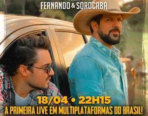 Fernando e Sorocaba fazem primeira live multiplataformas do país 41