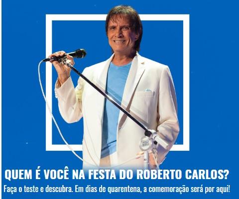 Sony Music promove ação digital para comemorar o aniversário do cantor Roberto Carlos 41
