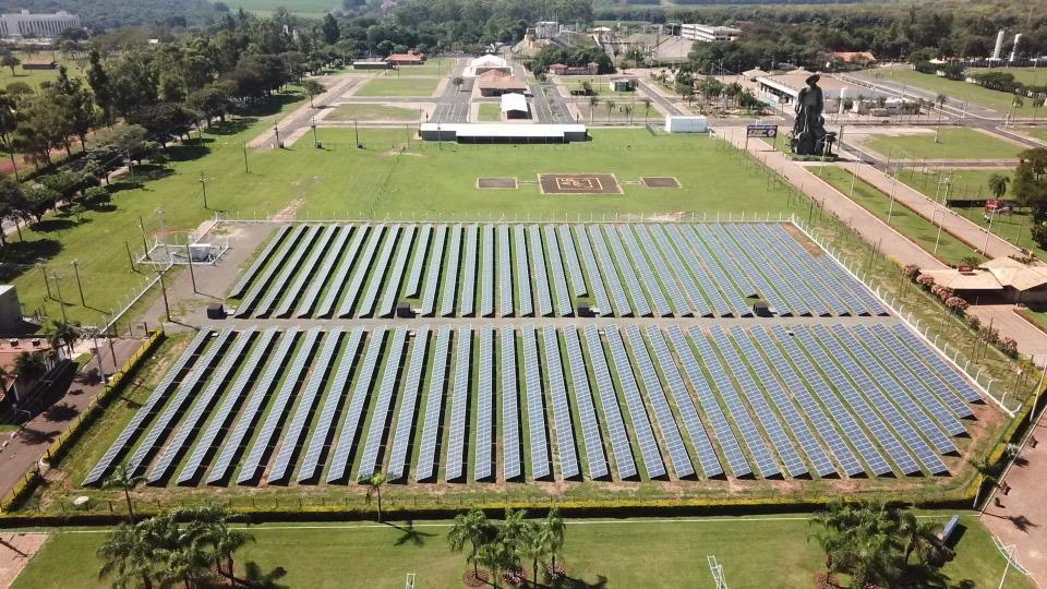 Energia limpa: Usina fotovoltaica do Parque do Peão está pronta 41