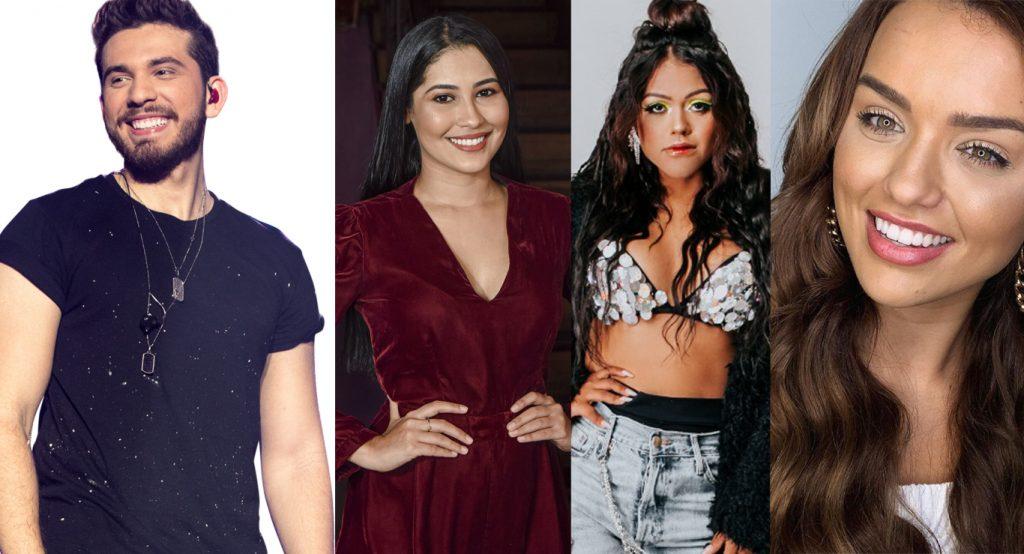 """Gustavo Mioto anuncia """"São João do Mioto"""" com Thaynara OG, Rafa Kalimann e Camila Loures como embaixadoras do projeto 42"""