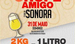 Cerveja Sonora faz campanha solidária e troca alimentos por chope neste domingo (31) 28