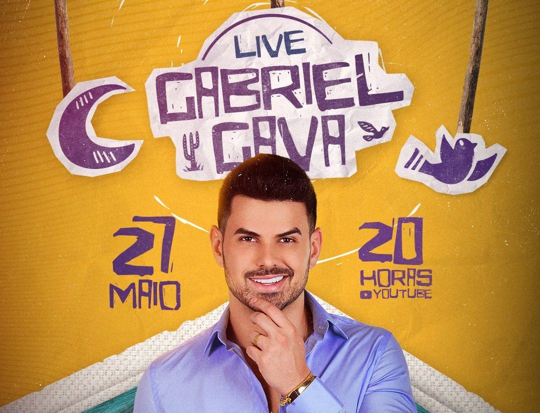 """Gabriel Gava anuncia live """"Na Boca do Povo"""" e lançamento de novo projeto para o dia 27 de maio 41"""