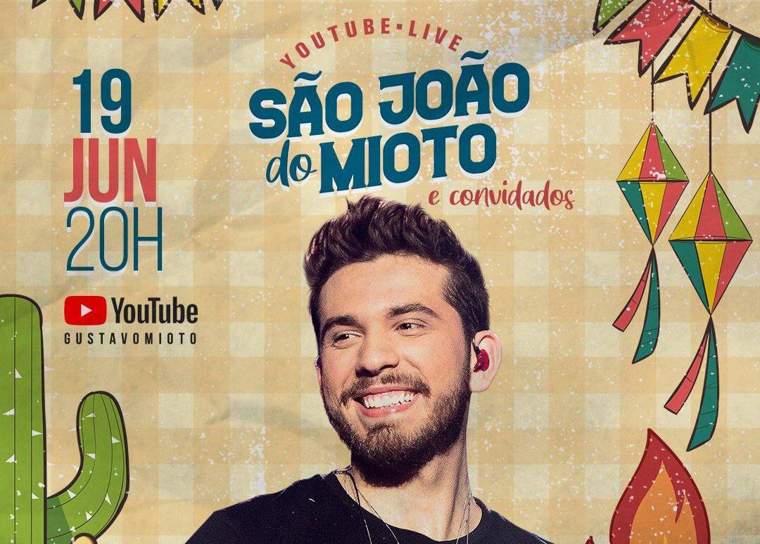 """Gustavo Mioto anuncia """"São João do Mioto"""" com Thaynara OG, Rafa Kalimann e Camila Loures como embaixadoras do projeto 41"""