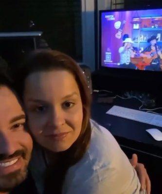 Canção apresentada na live da dupla Mayck e Lyan emociona casal Maiara e Fernando Zor 41