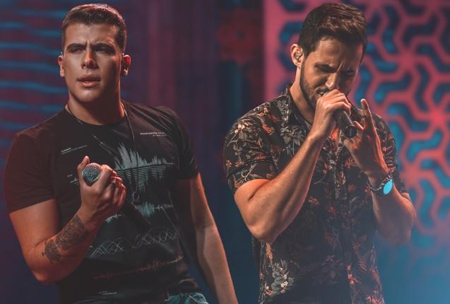 Vitor & Cadu fazem terceiro Show Online na quarentena 41