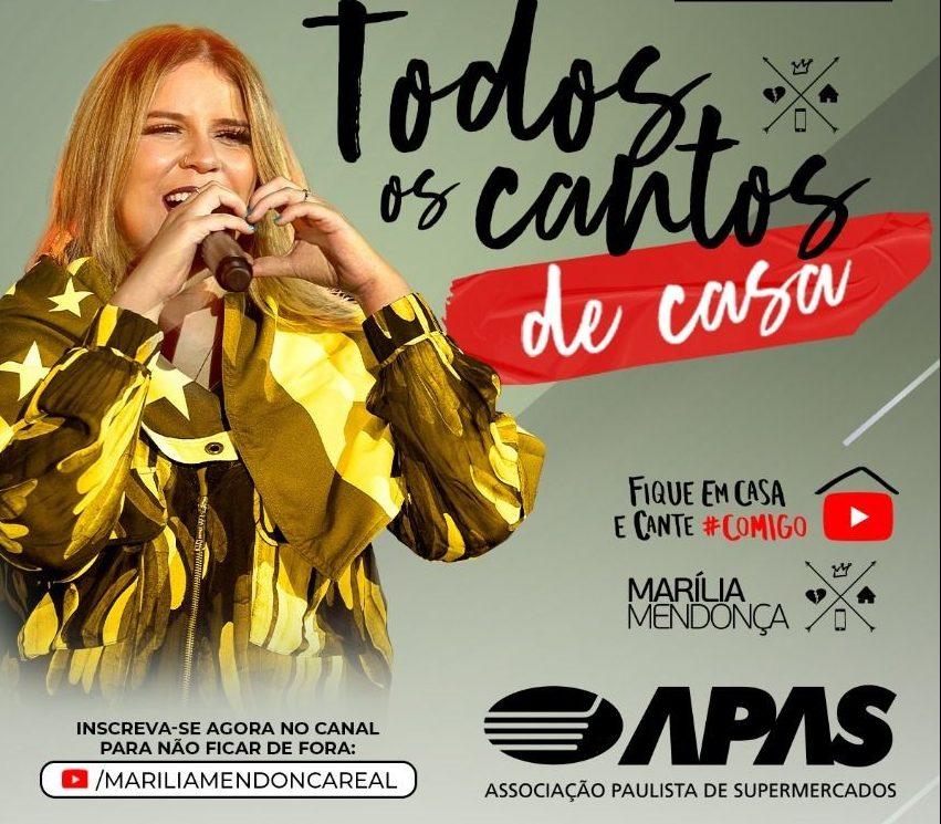 APAS patrocina live da cantora Marília Mendonça 41