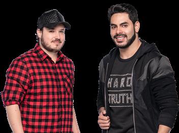 Israel e Rodolffo fazem live solidária na sexta feira com apresentação de Rafa Kalimann 41