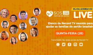 Marta se emociona ao relembrar sua trajetória em entrevista com Mylena Ciribelli na 'Super Live SOS Famílias do Sertão' 25
