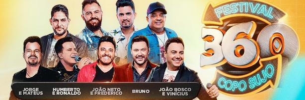 Jorge e Mateus, João Bosco e Vinicius, João Neto e Frederico e Humberto e Ronaldo juntos no 'Festival 360 – Copo Sujo' 42