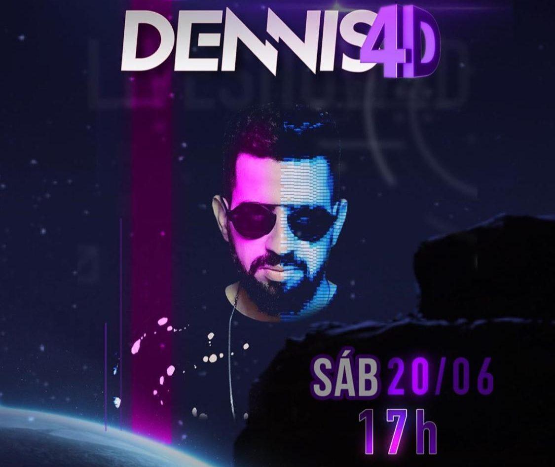 Dennis DJ fará a primeira live show 4D do mundo 41