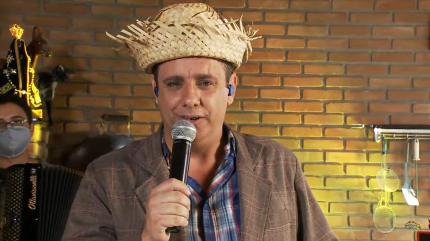 TV Aparecida exibe live de festa junina na casa de Tonho Prado 41