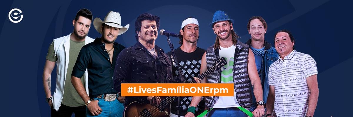 Bruno e Barretto, Falamansa  e Paulo Ricardo comandam as #LivesFamíliaONEr 41