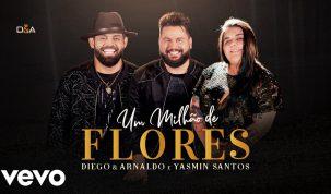 """Diego e Arnaldo lançam """"Um Milhão de Flores"""" com participação de Yasmin Santos 15"""