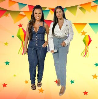 Simone e Simaria anunciam live junina com participação da família 42