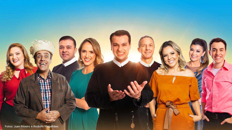 TV Aparecida reúne todo o seu elenco em programação comemorativa 41