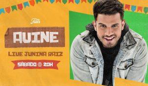 AVINE é a atração desta semana na Festa Junina by FILTR da Sony Music Brasil 2