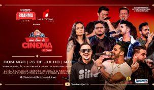 Nova geração do sertanejo se reúne para super live em cinema de Goiânia 1
