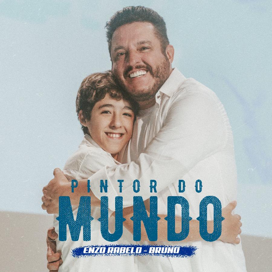 """Enzo Rabelo e seu pai, Bruno, espalham mensagem de paz em """"Pintor do Mundo"""" 42"""