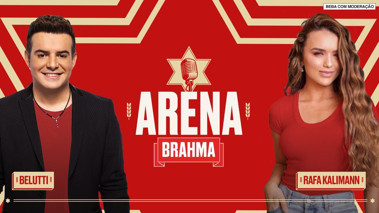 Com Rafa Kalimann e Belutti, sexto episódio do Arena Brahma traz o melhor das duplas sertanejas e trote em Naiara Azevedo 41
