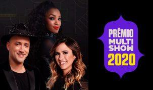 Prêmio Multishow divulga os indicados à edição de 2020 em uma superlive no dia 16 de setembro 28