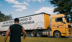 Balada de Boteco em casa: Gusttavo Lima posa com caminhão de cerveja na sua fazenda em Goiânia 21