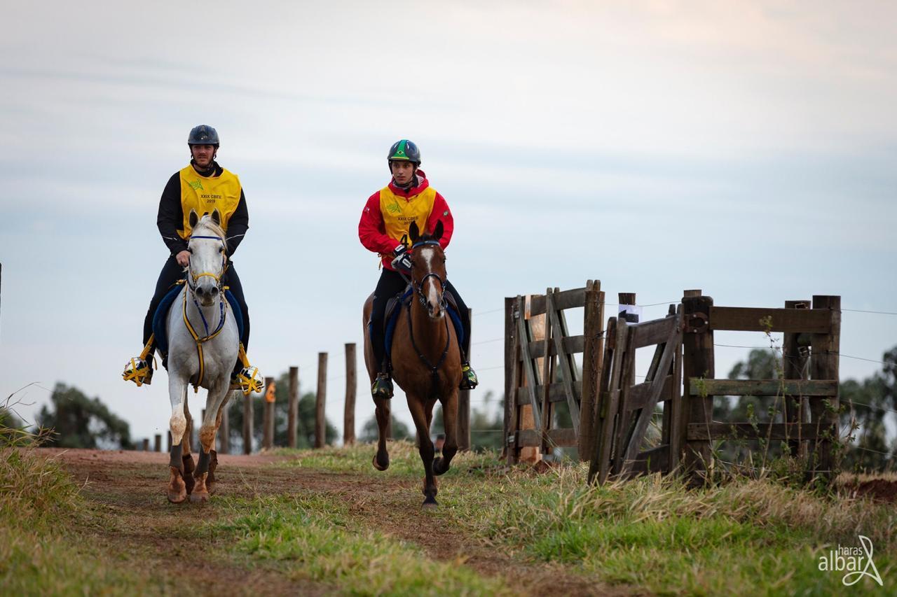 Brasileiro montando Cavalo Árabe fica no Top 10 do Ranking Mundial de Enduro 41