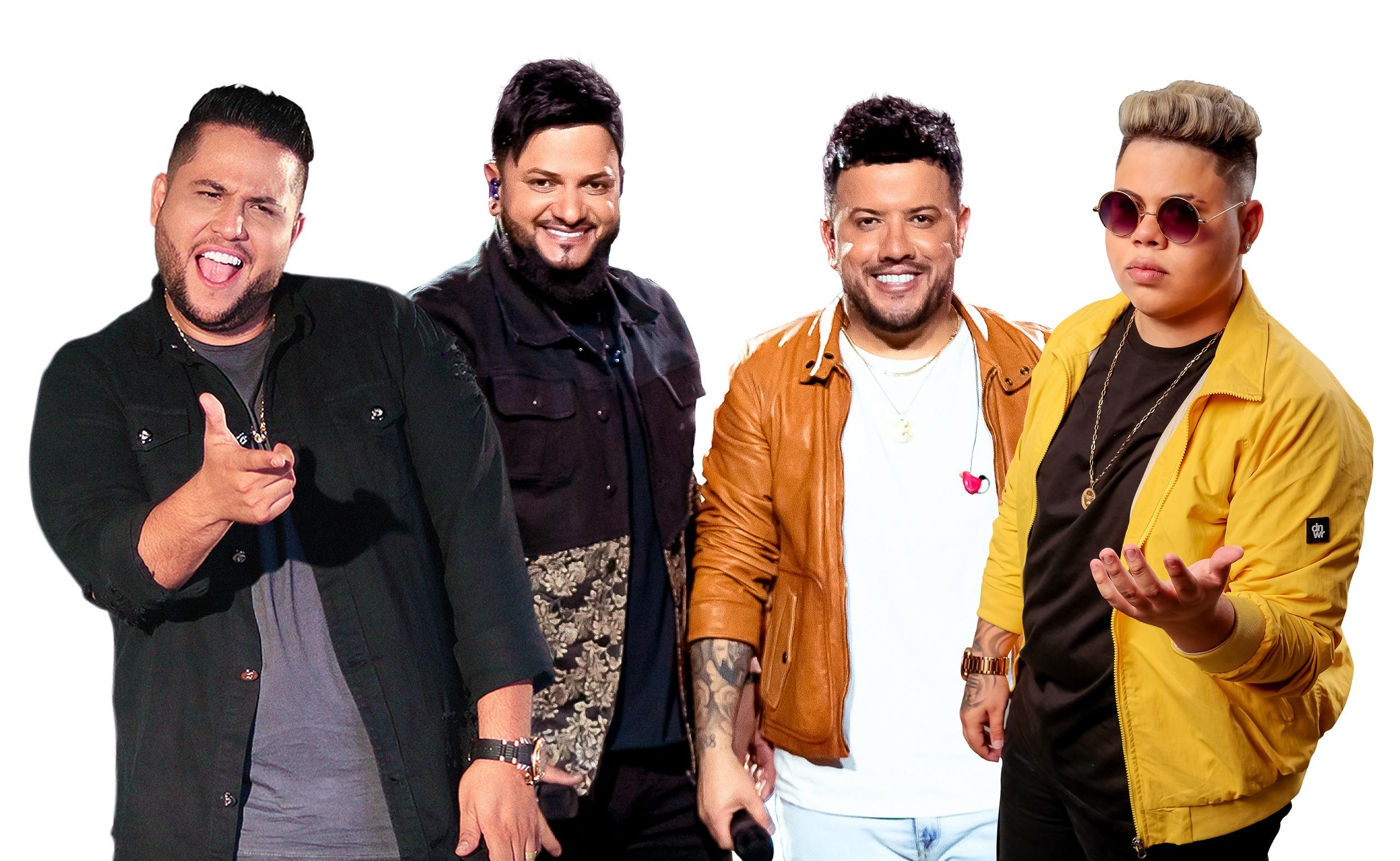 Felipe Ferraz lança single, em parceria com Rogerinho e a dupla Diego & Victor Hugo 42