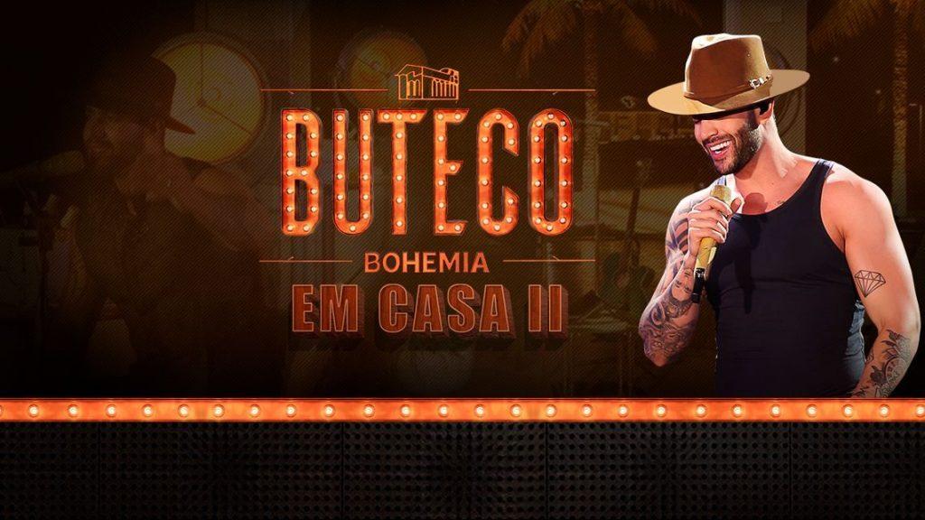 "Cervejaria Bohemia e Gusttavo Lima apresentam live ""Buteco Bohemia"" 41"