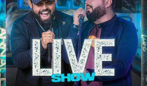 Diego e Arnaldo lançam novo EP do projeto Live Show com sucessos que marcaram a carreira da dupla 9