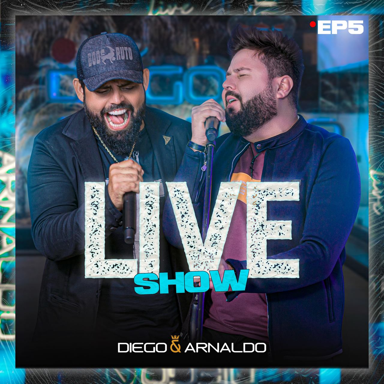 Diego e Arnaldo lançam novo EP do projeto Live Show com sucessos que marcaram a carreira da dupla 41