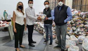 Em campanha solidária, Associação de Cavalo arrecada 3 toneladas de alimentos 26