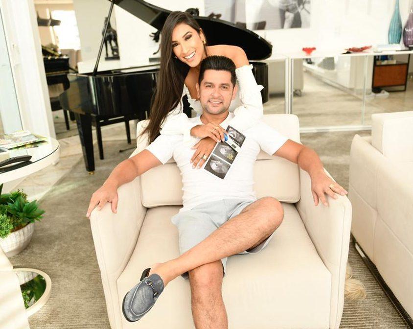 Cantor Léo Magalhães e esposa Josi Neves anunciam gravidez 41