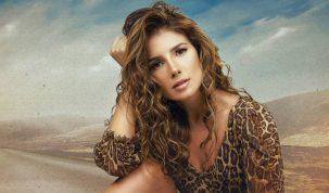 """Paula Fernandes divulga clipe de """"Promessinha"""" e faz primeira apresentação ao vivo da canção no Domingão do Faustão 6"""