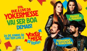 Yokermesse 2021 terá atrações em dobro com live de Maiara & Maraisa e Fernando & Sorocabano dia 26 de Junho 4