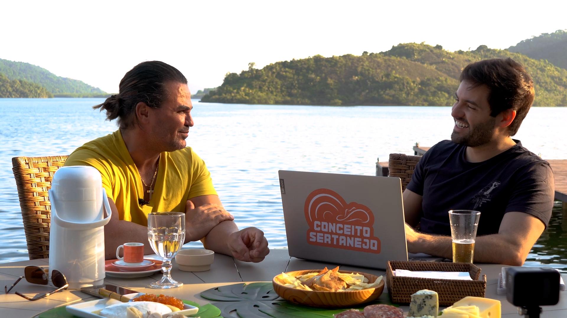 Eduardo Costa é o primeiro entrevistado do Conceito Talk Show 41